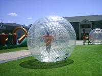 Flexible PVC or TPU material zorb ball for sale, giant human bowling/globe riding
