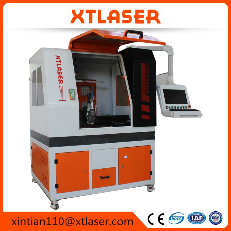 China low cost fiber laser cutter manufacturer accuracy laser die cutting machine 6040