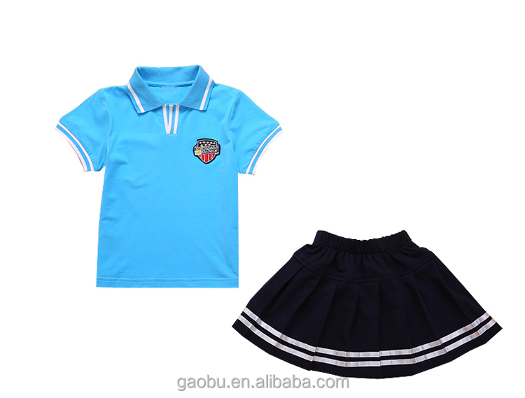 Wholesale cheap price kids International school uniform