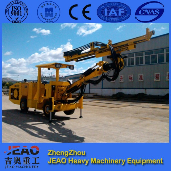 China Drilling Manufacturer-JEAO-HT81A-Blastholes Hydraulic Crawler Drilling Jumbo