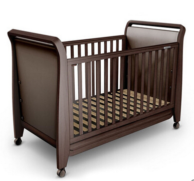 New Zealand pine wood baby bed luxury baby cot