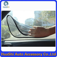 high solar window film for cars privacy decorative frosted removable static window film window cling