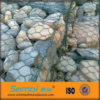 Erosion Control Rock Filled Gabion Basket Sizes