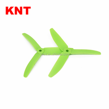 KNT FPV 3 blades helicopter Propellers 5040 Tri- Blades Props Nylon Props 5x4 CW CCW for Multirotor