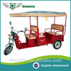 Professional electric tuk tuk with CE certificate