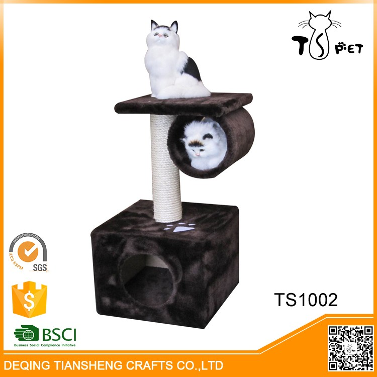 High-end Pet Products and Cats Application Natural Wood Cat Trees