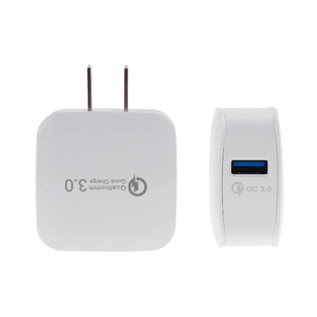 Universal EU US Plug Phone Charger QC 3.0 USB Wall Travel Quick Charger For Smartphone