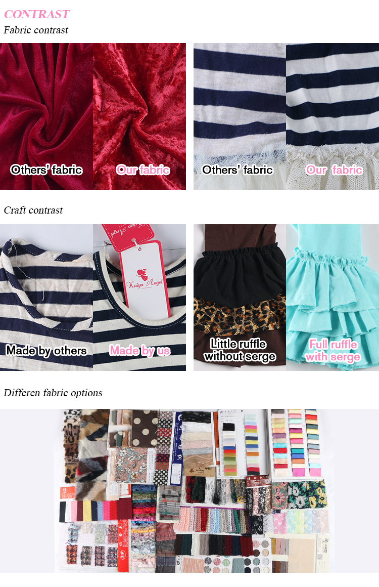 New Arrival Latest Design Summer Cute Kids Clothing Dress Casual Baby Girl Dress