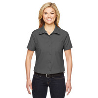 Comfortable women work cloth polo shirt 100% cotton ladies office working uniforms for women