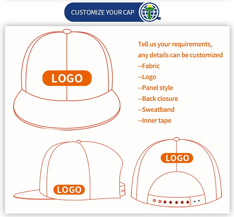 Custom Embrodery Design Hemp Snapback Hats and Caps for Men Albaba China