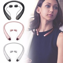 HBS910 tone+ Sport Jogging Bluetooths Headset Stereo Sport Wireless Fashion Neck Hanging Headphone Earphone for iphone7