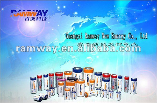 C battery high CR26500 high capacity lithium battery