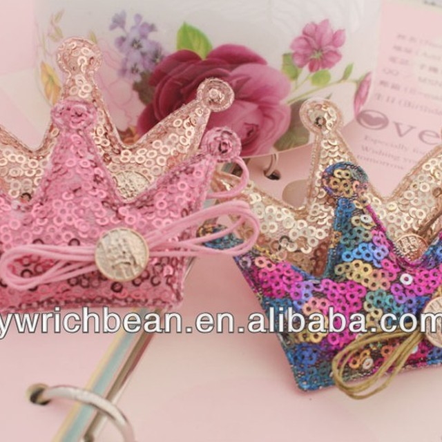 Bird Shap Crown Hair Clips With Girl