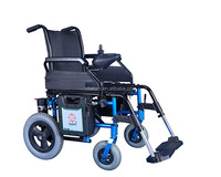 Vitafom Double Motor 270W Light weight Electric Wheel chair Foldable