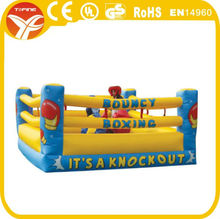 inflatable bouncy boxing rings for sale/inflatable wrestling ring
