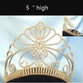 gold pageant crown