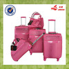 "Four Wheels pink PU Leather Material 19""24""26""29 Size New Design Travel Bags"
