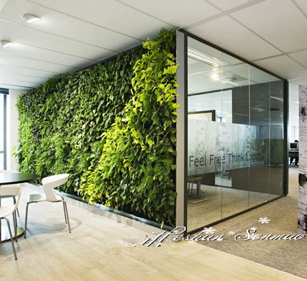 hot selling factory price new designed popular artificial plant wall vertical wall garden with high quality