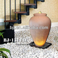 decorative jars and vases waterfall fountain