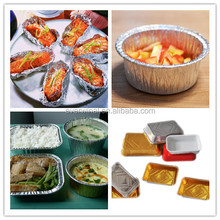 Aluminium Foil Container for Food packaging