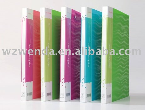 PP A4 file folder/document holder/PPfile cover
