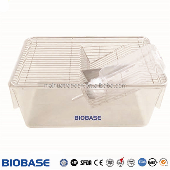 2017 New! Mouse Cage with stainless steel tube below