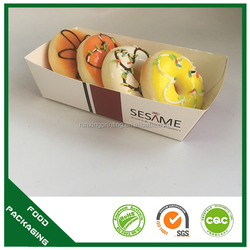 China manufacturer art drawer burger paper sushi container