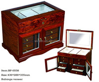 BP-0558 Classic Luxury Handmade Wooden Jewelry Boxes