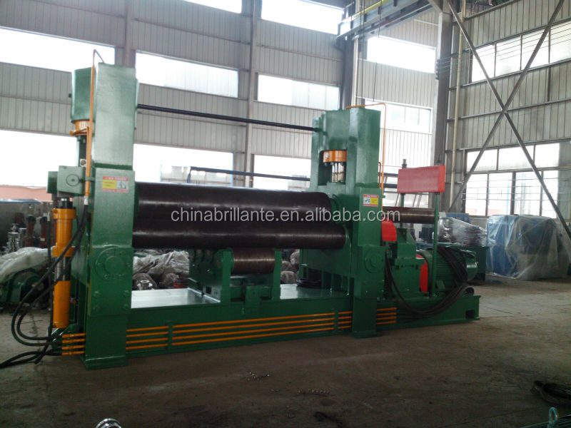 JIANGSU NANTON: BRILLANTE: <strong>W11S</strong> rolling machine of cold rolled steel plate manual and automatic rolling machine with prebending