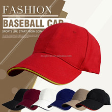 Wholesale baseball cap cotton 6 panel hat baseball cap with logo cap factory supply