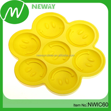 Smile Face Silicone Reusable Ice Sculpture Molds for Sale