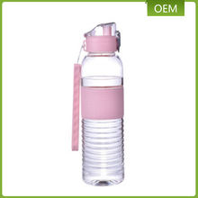 Promotional PCTG material 600ml size empty plastic transparent water bottles