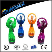 Factory sale mini water cooling fan for summer