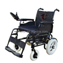 Foldable electric wheel chair for disabled/handicipated