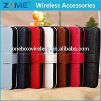 OEM Customized Universal Smartphone Wallet PU Mobile Phone Fashion Foldable Leather Flip Case For iPhone 5C