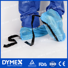 Light weight ESD Anti-static Shoe Cover/disposable machine made CPE/PE shoe cover for clinic