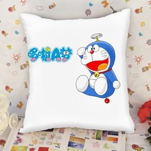 Custom made printed Doraemon pillow manufacturer