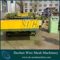 Full automatic wire mesh welding machine equipped with mesh cutting device(OEM)