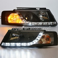 1998-2005 Year VW Passat B5 LED Car Headlights Head Lamp E4 E11 Mark R8 Style SN