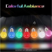 Colorful Led Bulb E27 3w Energy Saving White Red Blue Green Yellow Orange Pink Lamp Light 220V Lamparas