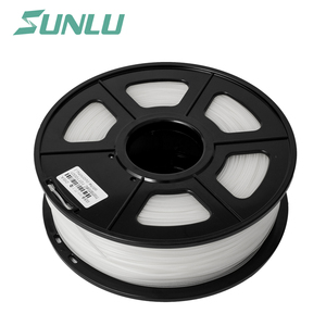 1.75mm white pla abs wood 3mm 1.75mm 3d printer filament for 3d digital printing