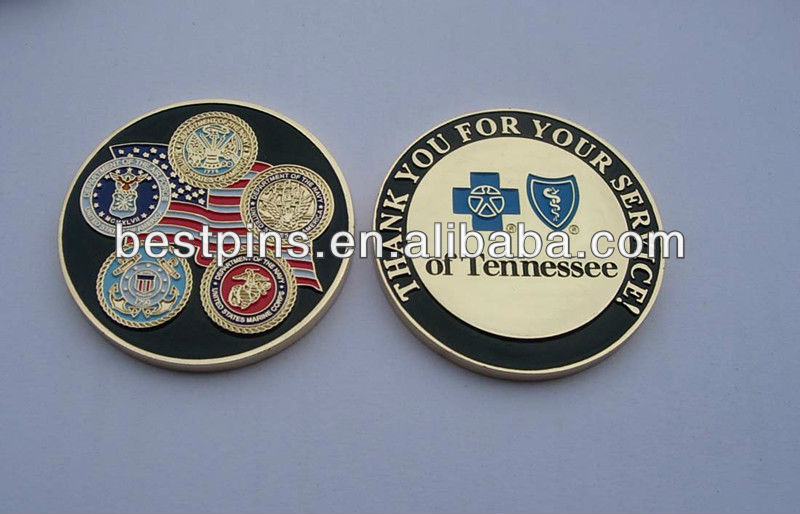 custom metal stamping challenge coin,metal souvenir coin for marine corps