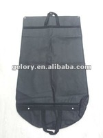 Black waterproof protective suit cover up durable foldable garment bag for cloth dress