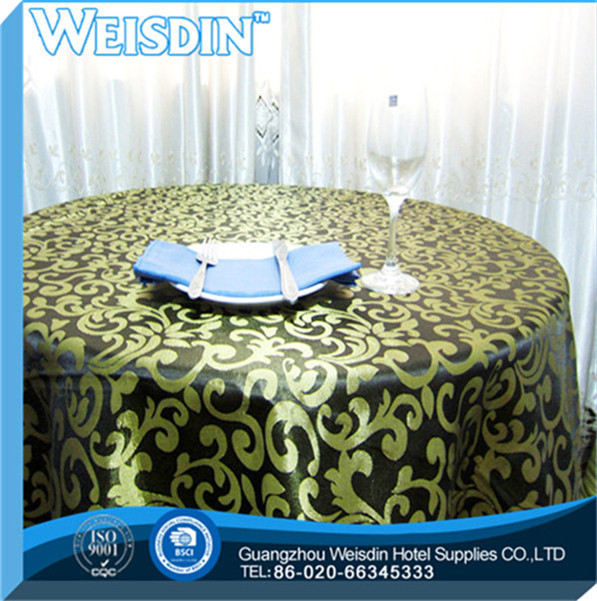 Wedding hot sale round jesus christ stamp tablecloth