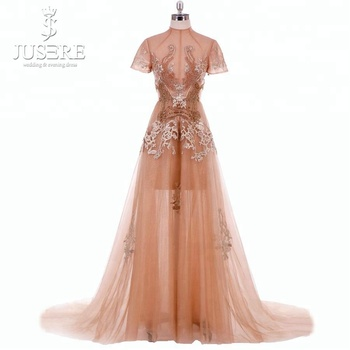 Suzhou Factory Top Quality Bead Design Evening Dress Wholesale