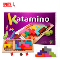New Design Wooden Tetris Katamino Toys