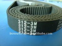 312HTD3M black rubber endless industrial timing belt timing pulley belt 3m belts