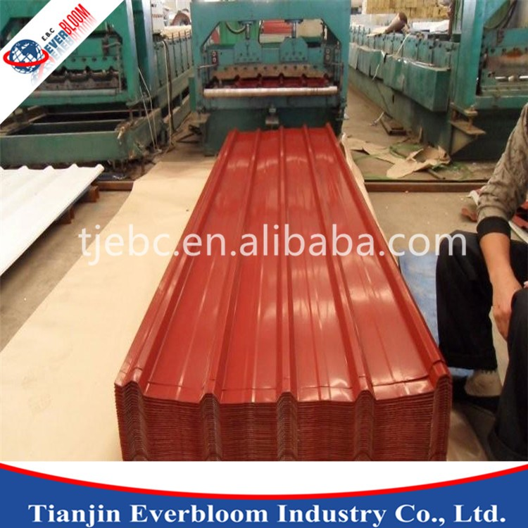 zinc aluminium roofing sheets / zinc coated steel sheets