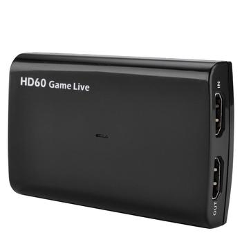 4K by pass 1080P HDMI to USB 3.0 UVC Capture Card Dongle for Live streaming with MIC in and HDMI output ezcap266