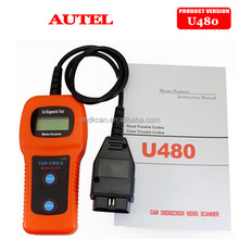 New U480 OBD2 OBDII Car/Truck AUTO Diagnostic Engine Scanner Fault Code Reader U 480 Car Diagnostic Tool